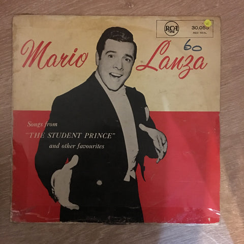 Mario Lanza - Songs From The Student Prince - Vinyl LP Record - Opened  - Very-Good- Quality (VG-) - C-Plan Audio