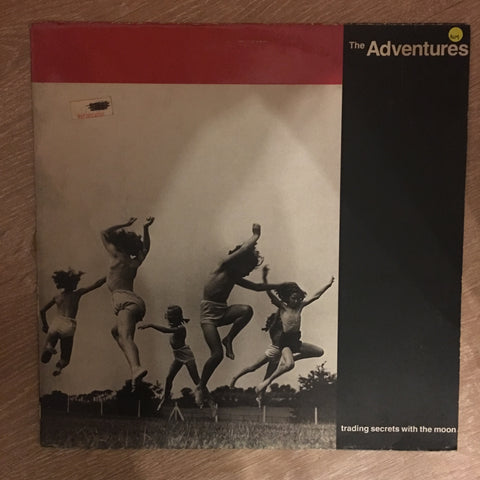 The Adventures ‎– Trading Secrets With The Moon - Vinyl LP Record - Opened  - Very-Good+ Quality (VG+)