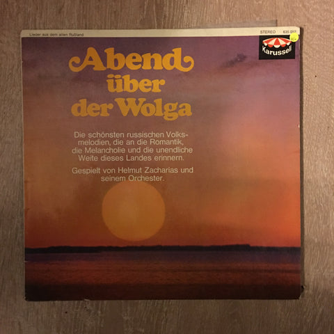 Helmut Zacharias - Abend Uger Der Wolge  - Vinyl LP Record - Opened  - Very-Good Quality (VG)