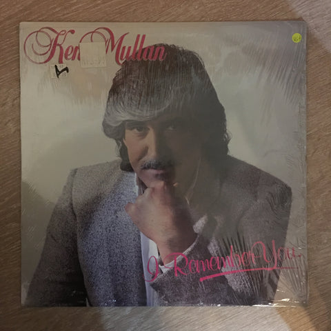Ken Mullan ‎– I Remember You - Vinyl LP Record - Opened  - Very-Good+ Quality (VG+) - C-Plan Audio