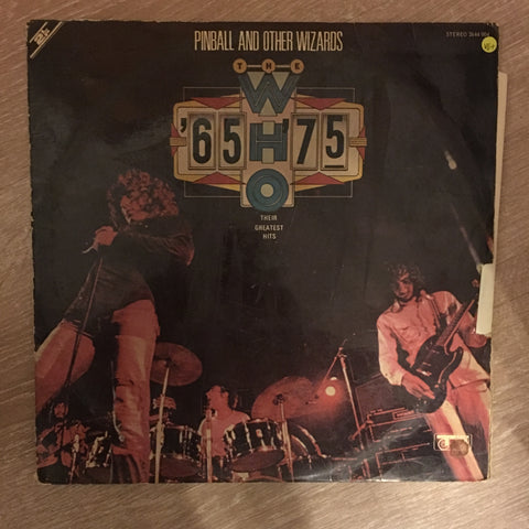 The Who ‎– '65 - '75 / Their Greatest Hits - Vinyl LP Record - Opened  - Very-Good+ Quality (VG+)