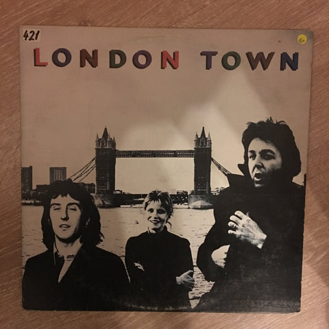 Wings - London Town ‎– Vinyl LP - Opened  - Very Good Quality (VG)