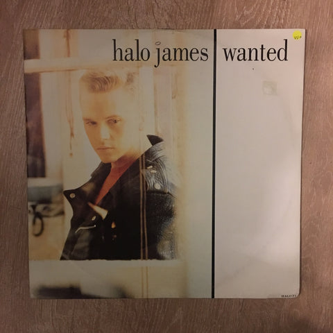 Halo James - Wanted - Vinyl LP Record - Opened  - Very-Good+ Quality (VG+)