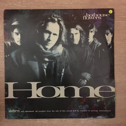 Hothouse Flowers - Home - Vinyl LP Record - Opened  - Very-Good Quality (VG) - C-Plan Audio