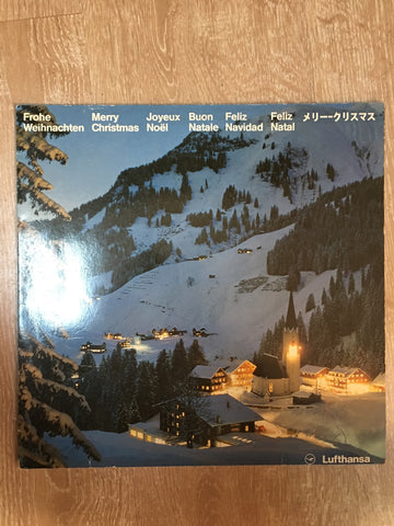 Merry Christmas - Children and Mens Choirs  - Lufthansa  - Vinyl LP - Opened  - Very-Good Quality (VG)
