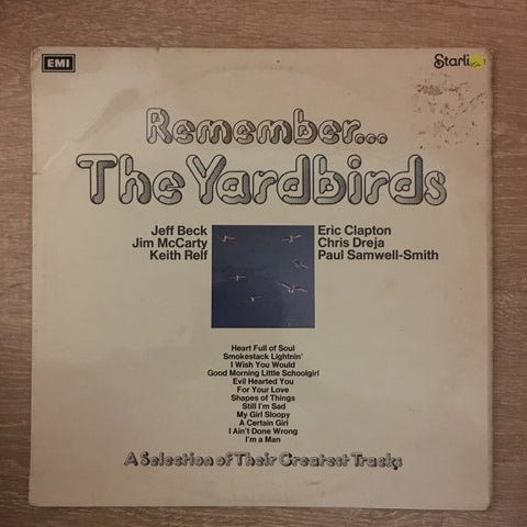 The Yardbirds ‎– Remember The Yardbirds - Vinyl LP Record - Opened  - Very-Good+ Quality (VG+)