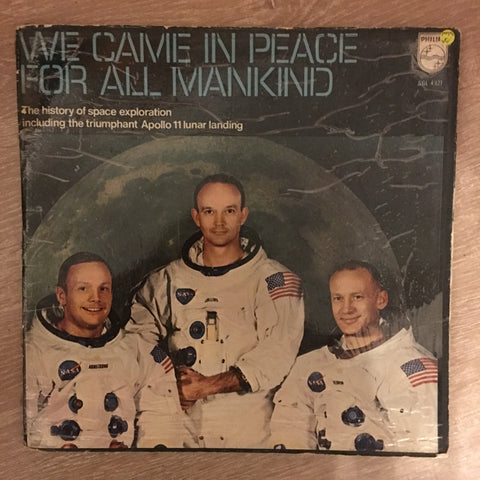 Various ‎– We Came In Peace For All Mankind, The Apollo Story incl Brochure - Vinyl LP Record - Opened  - Very-Good Quality (VG)