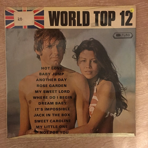 World Top 12 - Vinyl LP Record - Opened  - Very-Good Quality (VG)