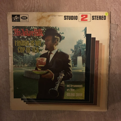 Mr Acker Bilk - London Is My Cup Of Tea - Vinyl LP Record - Opened  - Very-Good Quality (VG)