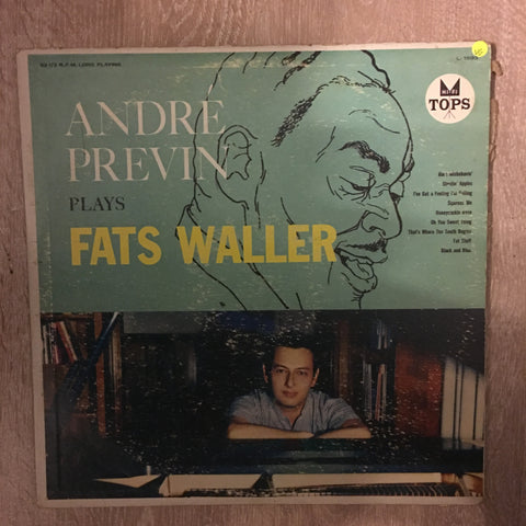 Andre Previn Plays Fats Waller - Vinyl LP Record - Opened  - Very-Good Quality (VG)