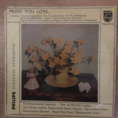 Music You Love - Phillips Classical Favourites - Vinyl LP Record - Opened  - Very-Good- Quality (VG-) - C-Plan Audio