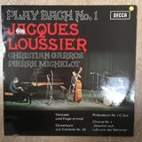 Jacques Loussier  ‎– Play Bach No.1-  Vinyl LP Record - Opened  - Very-Good+ Quality (VG+) - C-Plan Audio