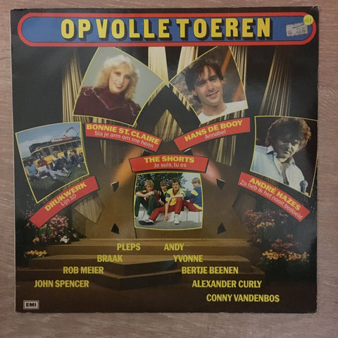 Op Volle Toeren - Vinyl LP Record - Opened  - Very-Good+ Quality (VG+) - C-Plan Audio