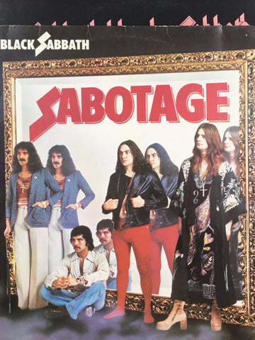Black Sabbath - Sabotage - Vinyl LP - Opened  - Very-Good+ Quality (VG+)