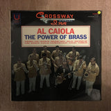 Al Caiola - The Power Of Brass - Vinyl LP Record - Opened  - Very-Good Quality (VG)