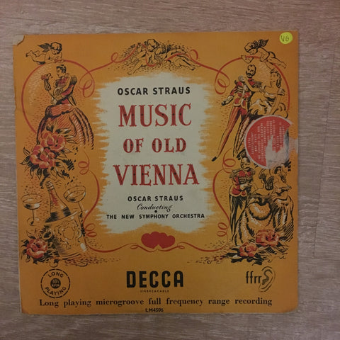 Oscar Strauss - Music Of Old Vienna - New Symphony Orchestra - Vinyl LP Record - Opened  - Very-Good Quality (VG) - C-Plan Audio