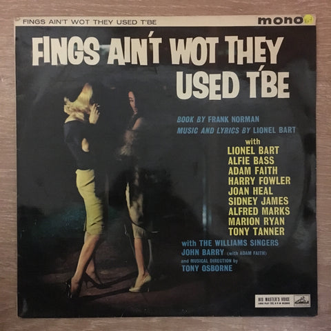 Frank Norman - Lionel Bart ‎– Fings Ain't Wot They Used T'Be ‎- Vinyl LP Record - Opened  - Very-Good+ Quality (VG+) - C-Plan Audio