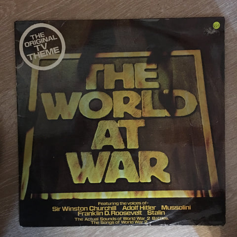 The World at War - Original TV Theme ‎- Vinyl LP Record - Opened  - Very-Good+ Quality (VG+) - C-Plan Audio
