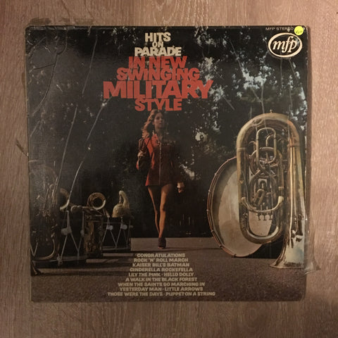 Hits On Parade In New Swinging Military Style  - Vinyl LP Record - Opened  - Very-Good+ Quality (VG+)