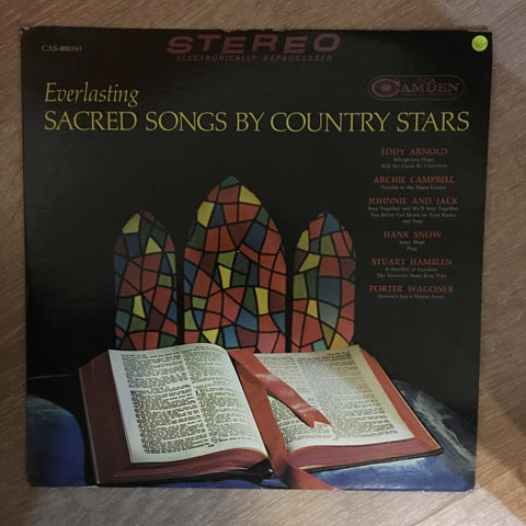 An Anthology of Everlasting Sacred Songs by Country Stars ‎- Vinyl LP Record - Opened  - Very-Good+ Quality (VG+) - C-Plan Audio