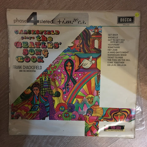 Frank Chacksfield And His Orchestra ‎– Chacksfield Plays The Beatles' Song Book - Vinyl LP Record - Opened  - Very-Good+ Quality (VG+)