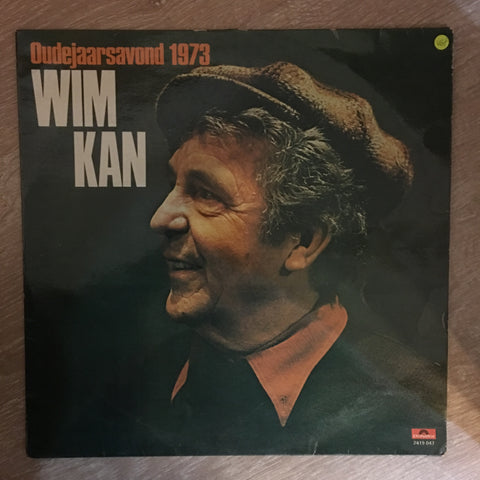 Wim Kan ‎– Oudejaarsavond 1973 - Vinyl LP Record - Opened  - Very-Good+ Quality (VG+) - C-Plan Audio