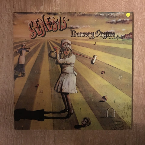 Genesis - Nursery Cryme - Vinyl LP - Opened  - Very-Good+ Quality (VG+)