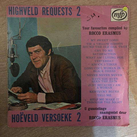 Rocco Erasmus - Highveld Requests - Vinyl LP Record - Opened  - Very-Good- Quality (VG-) - C-Plan Audio
