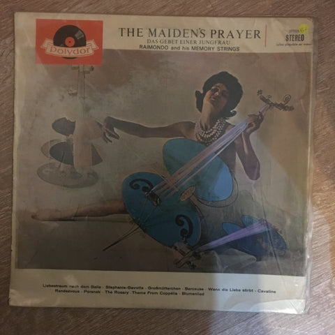 "Raimondo Und Die ""Memory-Strings"" ‎– The Maiden's Prayer -Das Gebet Einer Jungfrau - Vinyl LP Record - Very-Good+ Quality (VG+) - C-Plan Audio"