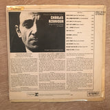 Charles Aznavour ‎– His Love Songs In English  - Vinyl LP Record - Opened  - Very-Good- Quality (VG-)