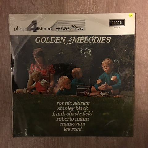 Golden Melodies - Phase 4 Stereo -  Vinyl LP Record - Opened  - Very-Good+ Quality (VG+)