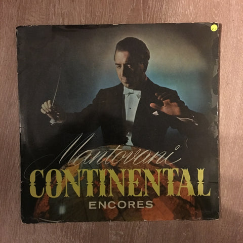 Mantovani - Continental Encores -  Vinyl LP Record - Opened  - Very-Good+ Quality (VG+)