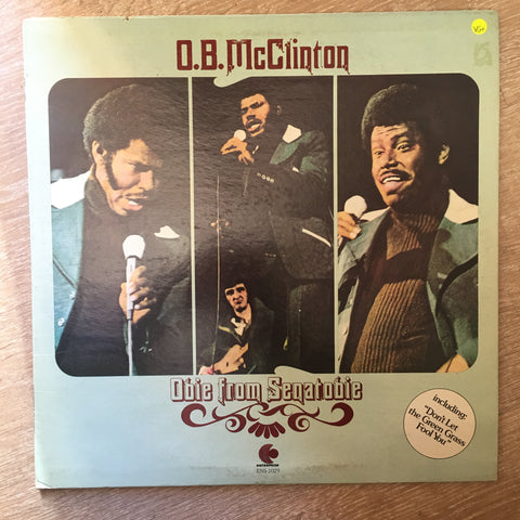 O.B. McClinton ‎– Obie From Senatobie - Vinyl LP Record - Opened  - Very-Good+ Quality (VG+) - C-Plan Audio