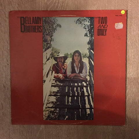 Bellamy Brothers - The Two and Only -  Vinyl LP Record - Opened  - Very-Good+ Quality (VG+)