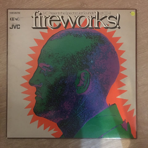 Fireworks! JVC Presents The Spectacular Sounds of CD-4 - Vinyl LP Record - Very-Good+ Quality (VG+) - C-Plan Audio