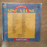 Dance On Sing A Long - Happy Days  - Vinyl LP Record - Opened  - Very-Good- Quality (VG-)
