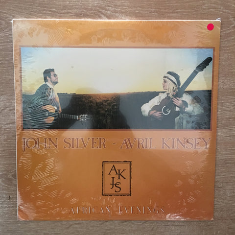 John Silver and Avril Kinsey - African Evenings  - Vinyl LP - Sealed - C-Plan Audio