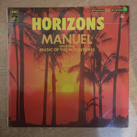 Manuel And The Music Of The Mountains ‎– Horizons ‎– Vinyl LP Record - Very-Good+ Quality (VG+) - C-Plan Audio