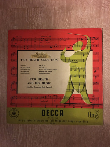 Ted Heath Selection - LF1064 - Ted Heath and His Music - Vinyl LP - Opened  - Very-Good Quality (VG) - C-Plan Audio