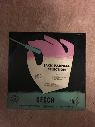 Jack Parnell ‎– Jack Parnell & His Quartet - Vinyl LP - Opened  - Very-Good Quality (VG) - C-Plan Audio