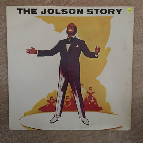 Al Jolson ‎– The Jolson Story - Vinyl LP Record - Opened  - Very-Good+ Quality (VG+)