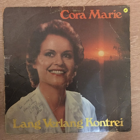 Cora Marie - Lang Verlang Kontrei - Vinyl LP Record - Opened  - Fair Quality (F) - C-Plan Audio