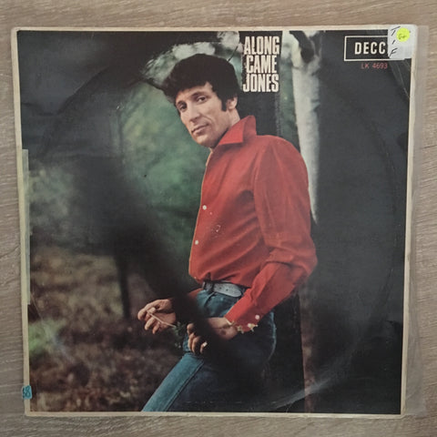 Tom Jones ‎– Along Came Jones - Vinyl LP Record - Opened  - Good+ Quality (G+)
