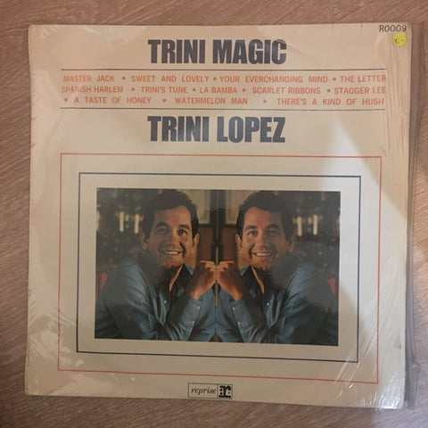 Trini Lopez - Trini Magic - Vinyl LP Record - Opened  - Very-Good- Quality (VG-) - C-Plan Audio