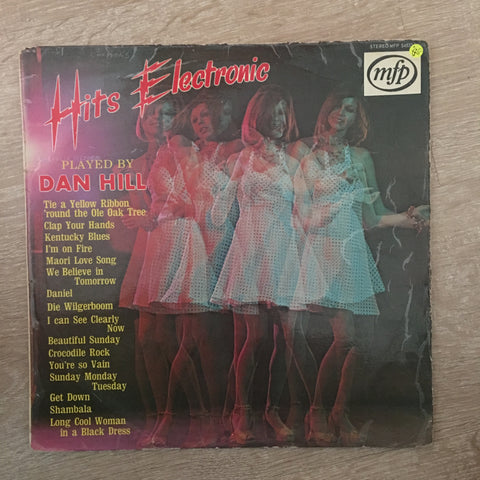 Hits Electronic - Dan Hill - Vinyl LP Record - Opened  - Good Quality (G) - C-Plan Audio