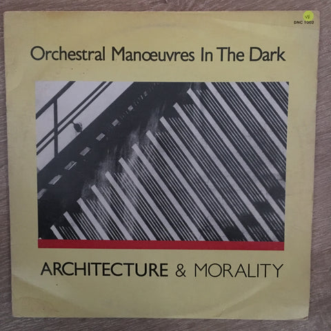 Orchestral Manoeuvres In The Dark ‎– Architecture & Morality - Vinyl LP Record - Opened  - Very-Good Quality (VG)
