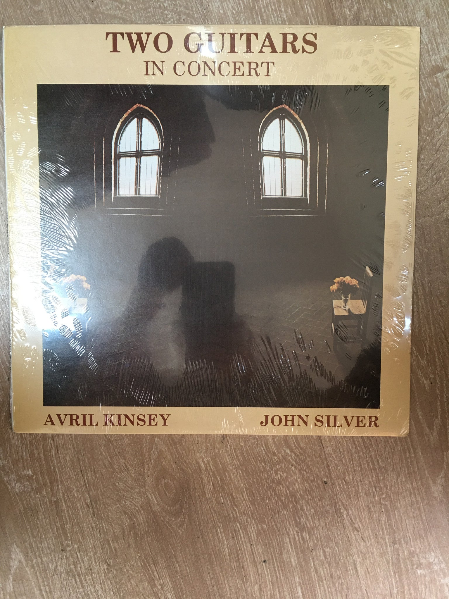 John Silver and Avril Kinsey - Two Guitars in Concert - Vinyl LP New - Sealed