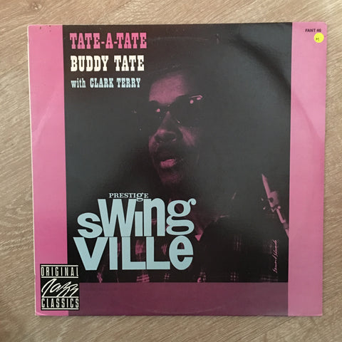 Buddy Tate with Clark Terry - Swing Ville -  Vinyl LP - New Sealed