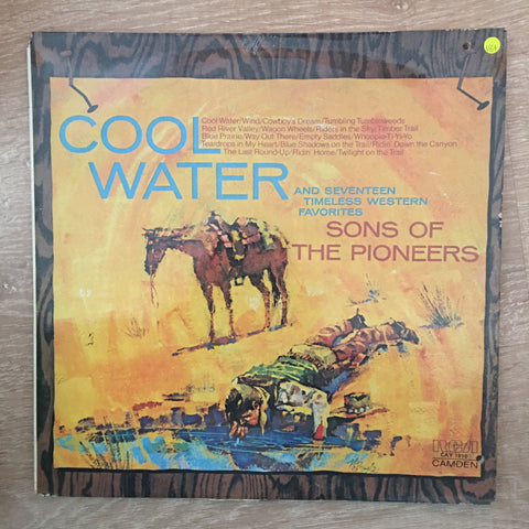 The Sons Of The Pioneers - Cool Water - Vinyl LP Record - Very-Good+ Quality (VG+)