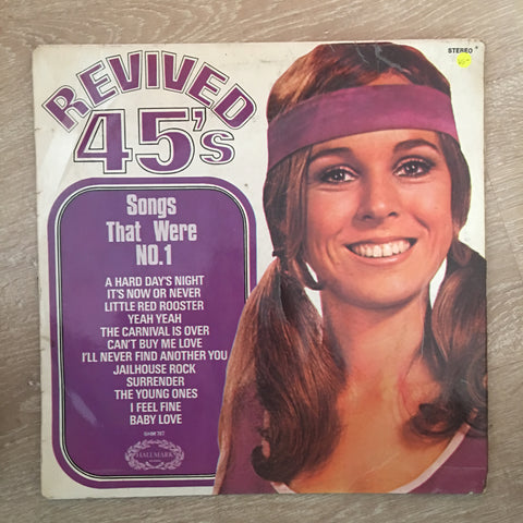 Hallmark - Revived 45's  - Vinyl LP Record - Opened  - Very-Good- Quality (VG-) - C-Plan Audio